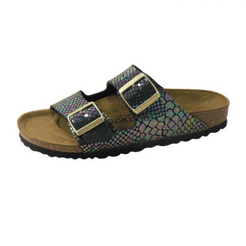 24c12499707 Arizona Birko Flor - Shiny Snake Black Multi (NARROW FIT) - Shop ...