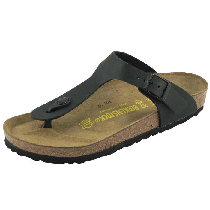 a338791ee74 Gizeh Birko Flor - Black (REGULAR FIT) - Shop Womens Shoes online ...
