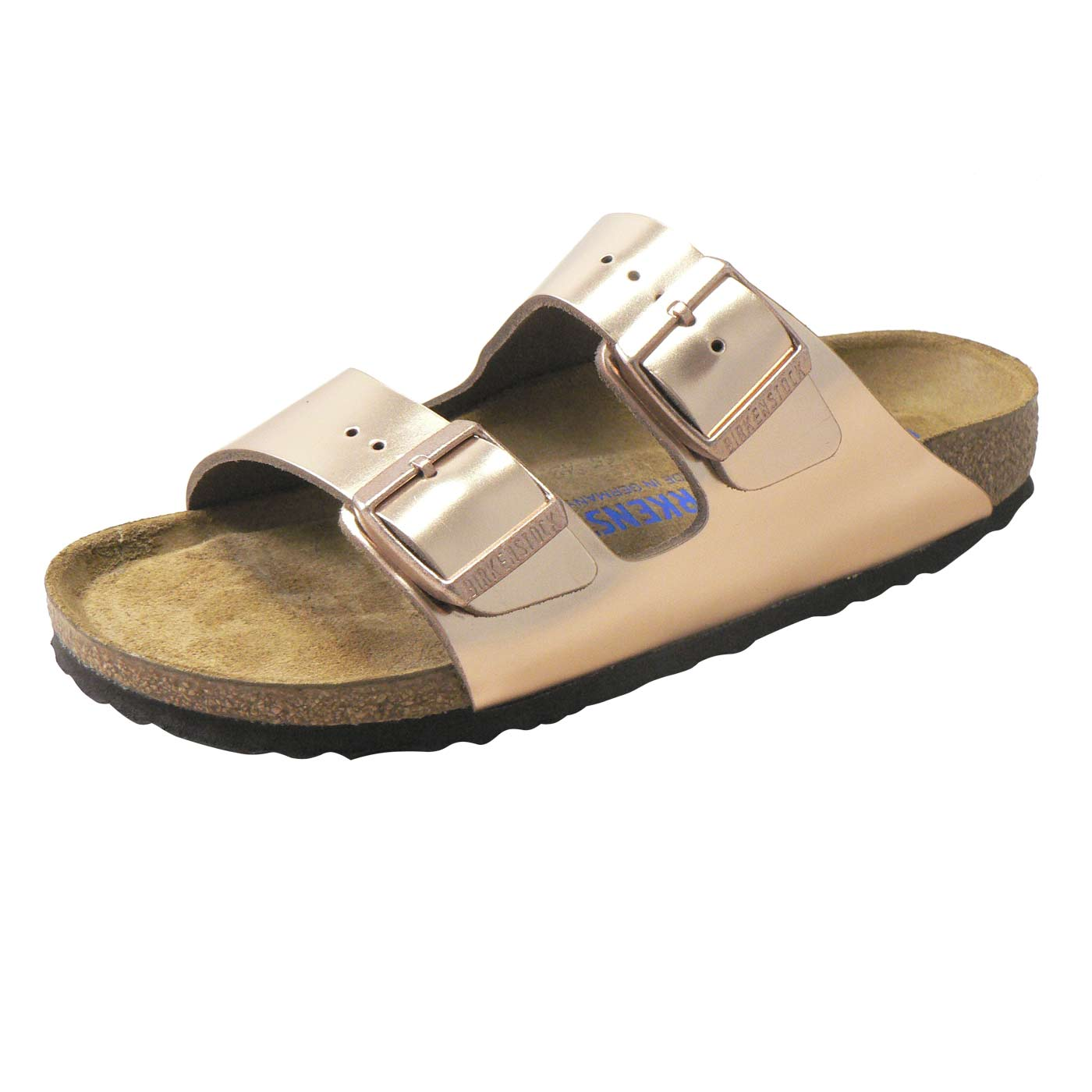 34f883061bc6 Arizona (Natural Leather   Soft Footbed) (NARROW FIT) - Metallic ...