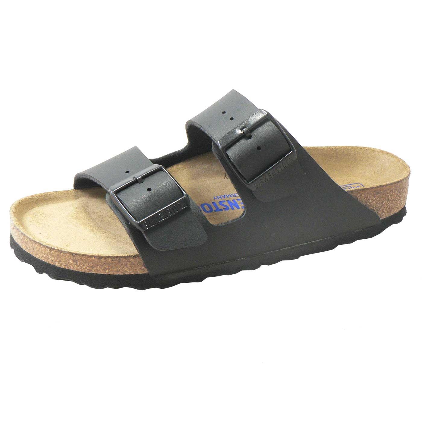 1a33ead8d5da Arizona (Birko Flor   Soft Footbed) - Black (NARROW FIT) - Shop ...