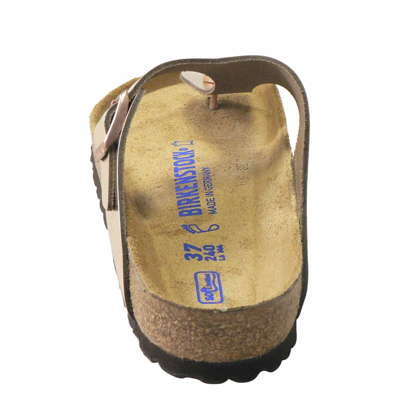 cbbbc2b5895 Gizeh (Natural Leather   Soft Footbed) - Metallic Copper (REGULAR ...