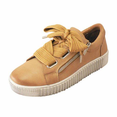 EOS Jovi Tan Platform Sneaker