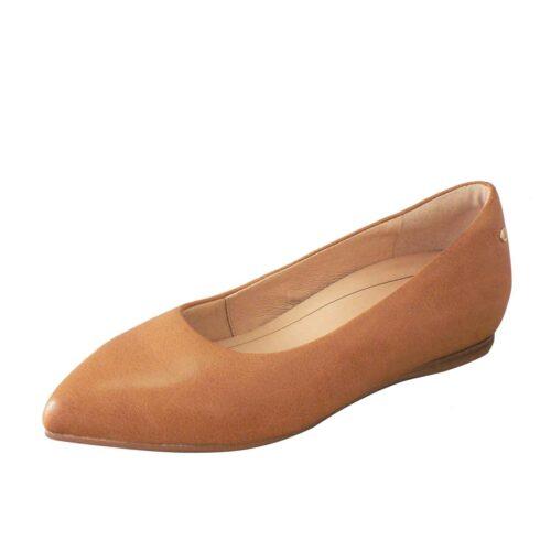 Frankie 4 Poppy Tan Flats