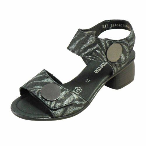 remonte irene R8760 black heel