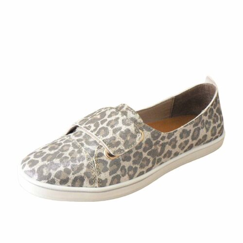 Alfie and Evie Gale Champagne Leopard