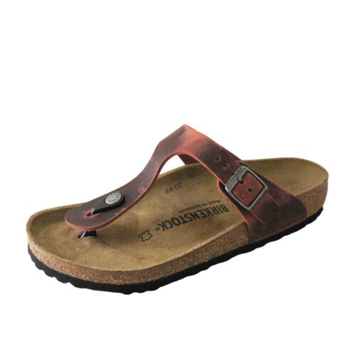 Birkenstock Gizeh Earth Red Oiled