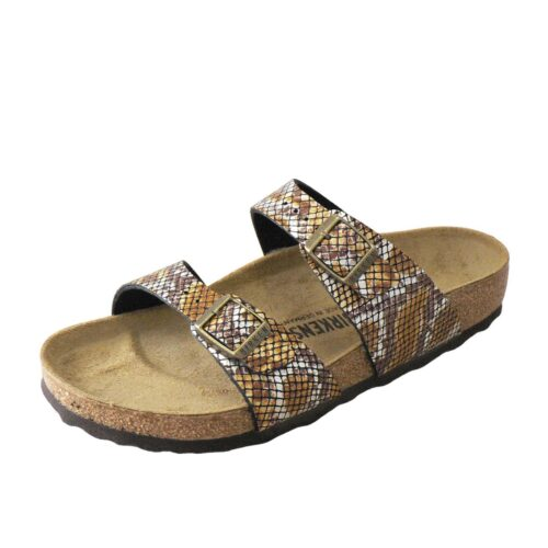 Birkenstock Sydney Python Brown Regular