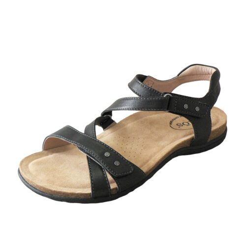 Taos Grand Z Black Sandal