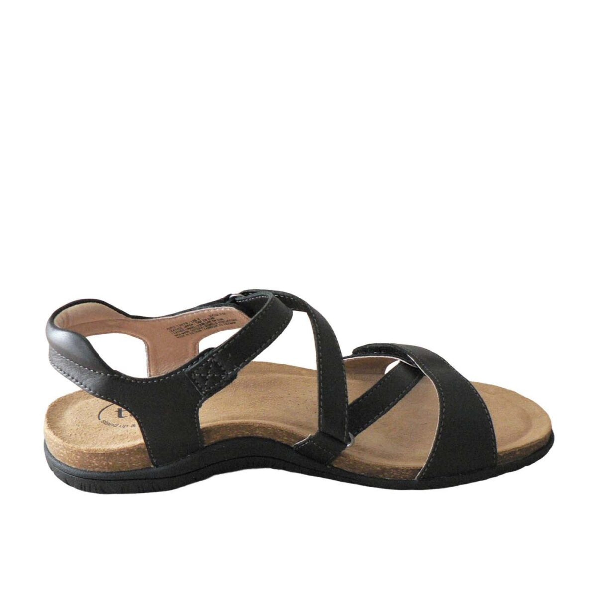 Taos Grand Z Black Sandal