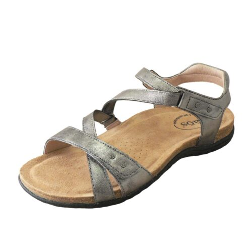 Taos Grand Z Pewter Sandal
