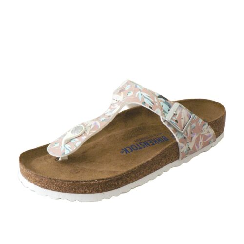 Birkenstock Gizeh Floral Fades Crystal Rose Soft Footbed Regular
